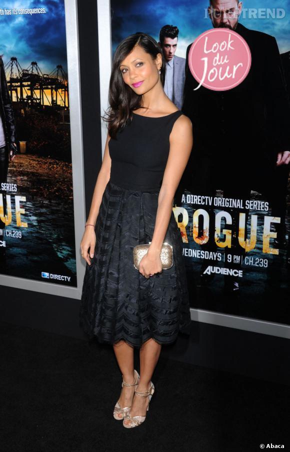 Thandie Newton lors de la première de Rogue à Los Angeles.