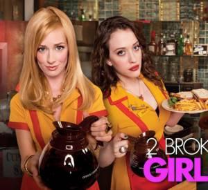 """La chaîne CBS a renouvelé 9 séries d'un coup pour la rentrée 2013, dont """"2 Broke Girls"""", la série girly qui déménage !"""