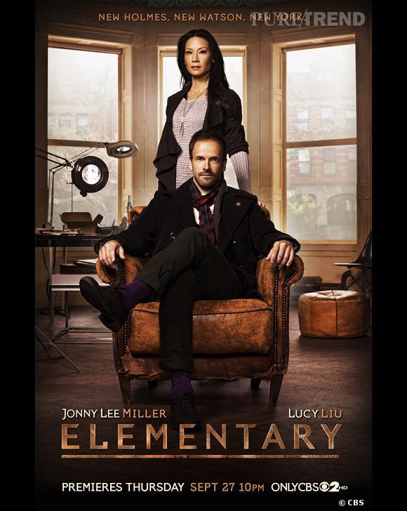 """""""Elementary"""" propose une nouvelle version de Sherlock Holmes dans une saison... 2 !"""