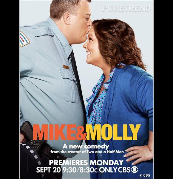 """""""Mike et Molly"""", une comédie sympathique qui obtient une saison 4."""