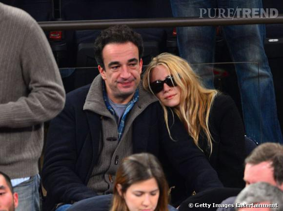 Mary Kate Olsen et Olivier Sarkozy, des accros de basket.