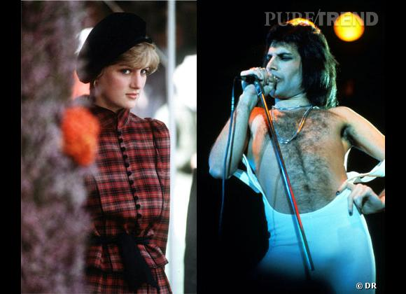 Lady Diana, sa soirée dans un bar gay avec Freddie Mercury dans les 80's.