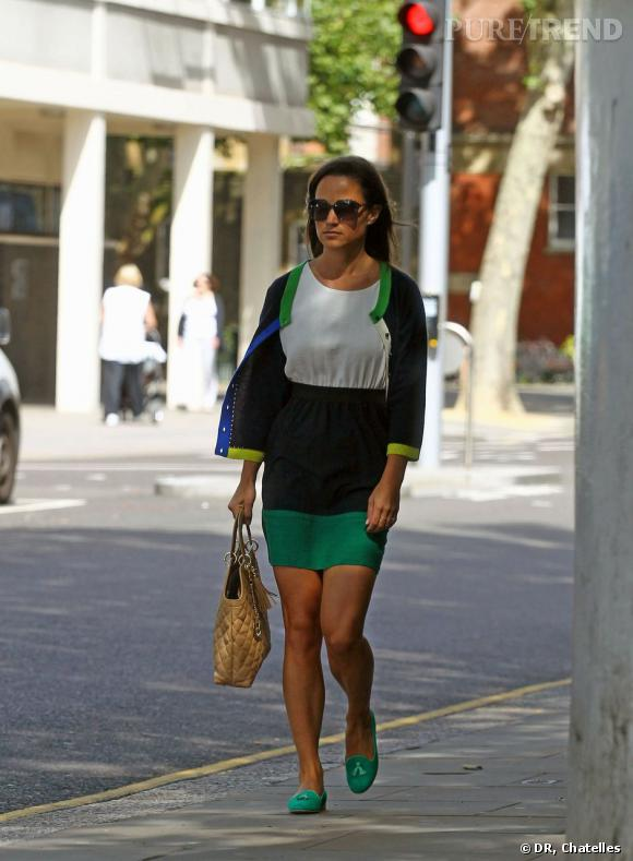 Pippa Middleton est la première fan des slippers Chatelles.