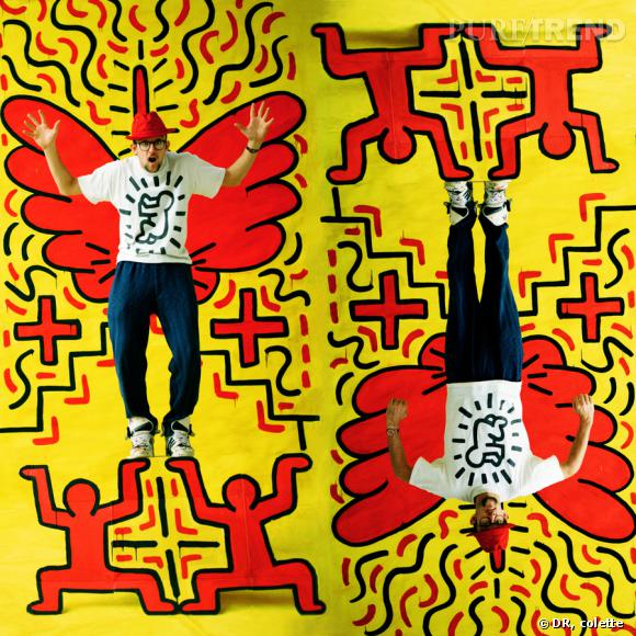 Keith Haring chez colette.