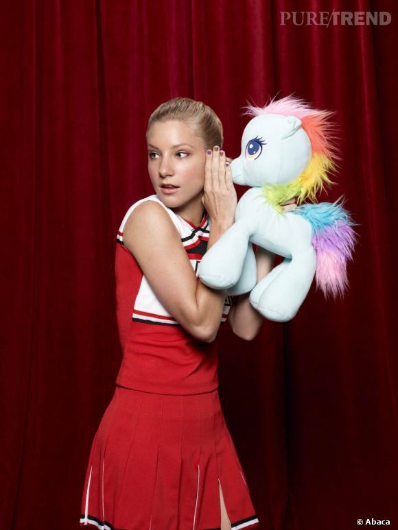 """Heather Morris, celle qui joue la naïve Brittany dans la série """"Glee"""", est enceinte !"""