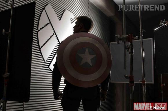 """""""Captain America 2"""" : une première image avec Chris Evans."""