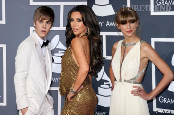 Kim Kardashian, Taylor Swift et Justin Bieber parmi la liste des stars les plus détestées d'Hollywood.