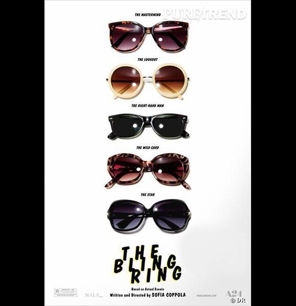 """""""The Bling Ring"""" : l'affiche officielle du film de Sofia Coppola."""