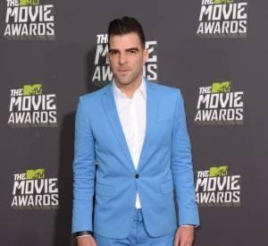 Zachary Quinto aux MTV Movie Awards 2013.