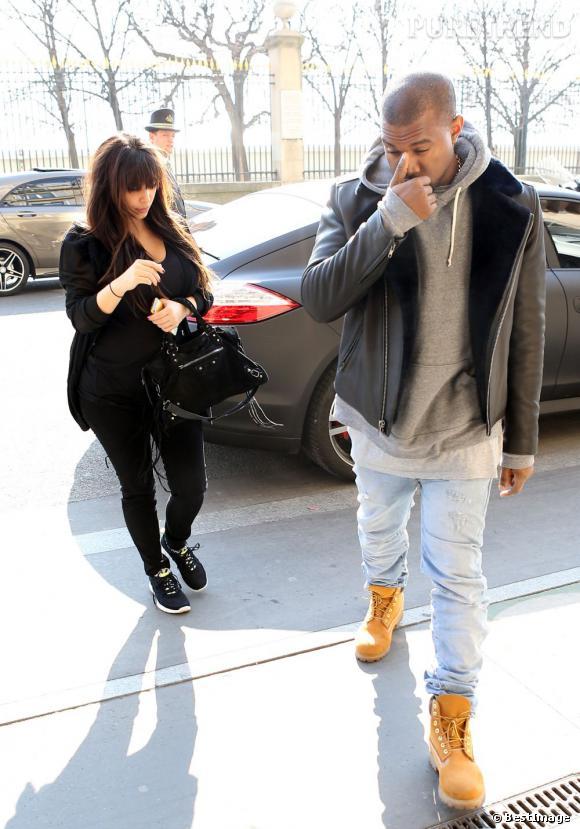 Kim Kardashian et Kanye West à Paris : lieu d'accouchement de la future maman ?
