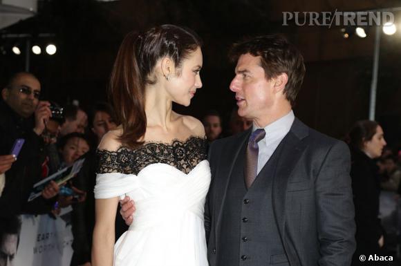 """Tom Cruise et Olga Kurylenko font la promotion d'""""Oblivion"""" : le nouveau couple de l'année ?"""