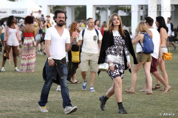 Mischa Barton n'a pas manqué de faire une apparition à Coachella.