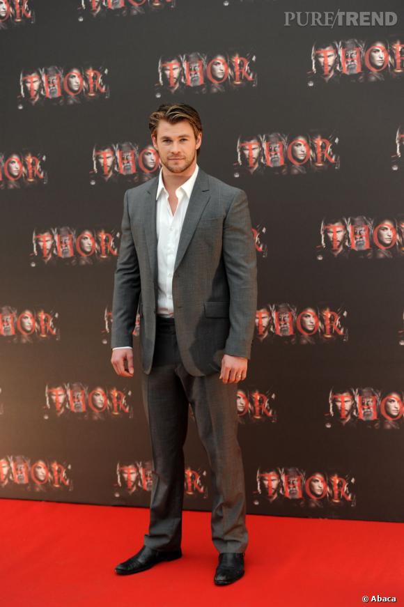 """Chris Hemsworth sera lui aussi un partenaire d'Omar Sy pour le film """"Candy Store""""."""