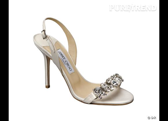 Must Have : Jimmy Choo, collection mariage 2013 Sandales Lotus