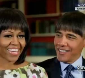 Barack Obama s'essaie a la frange : tout est dans la meche !