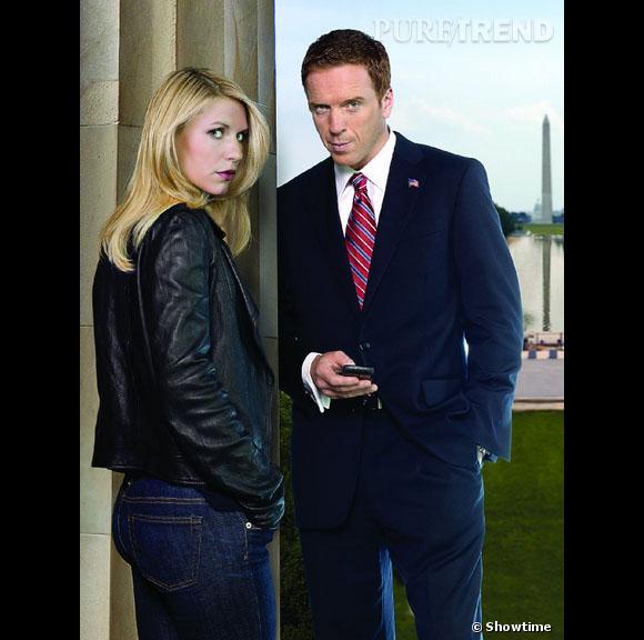 """Claire Danes et Damian Lewis, personnages clés de la série """"Homeland"""". Que deviennent-ils dans la saison 3 ?"""