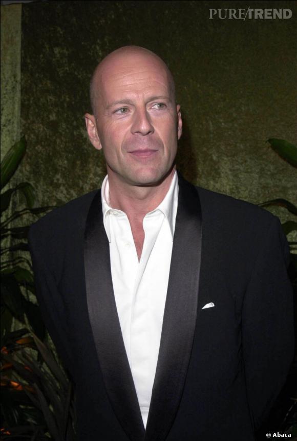 Bruce Willis, chauve et sexy