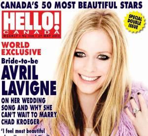 Avril Lavigne : la plus belle star du Canada selon le magazine Hello!Canada