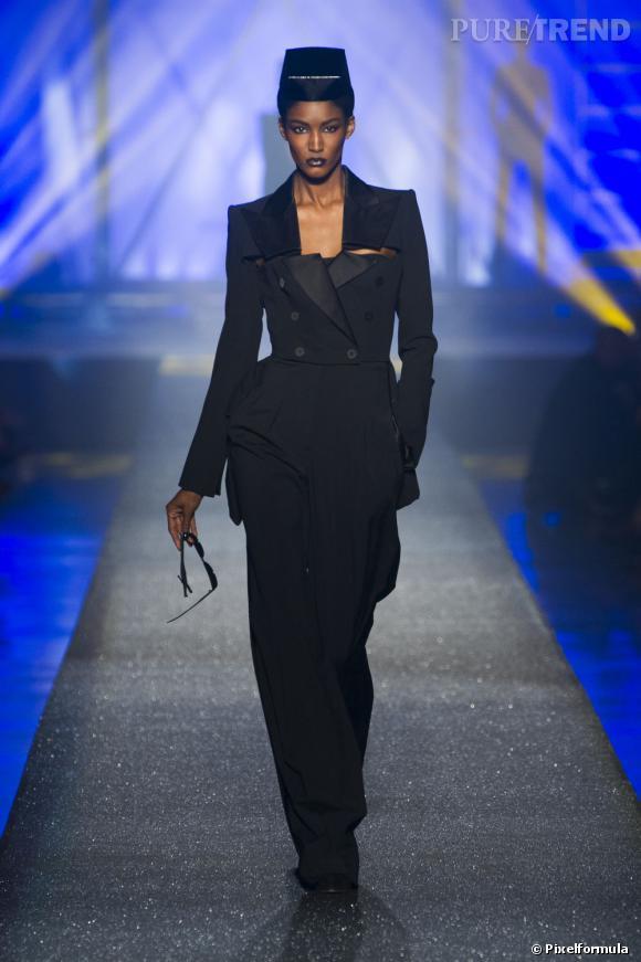 Vu sur les podiums : la tendance smoking au féminin    Jean Paul Gaultier, défilé Printemps-Eté 2013