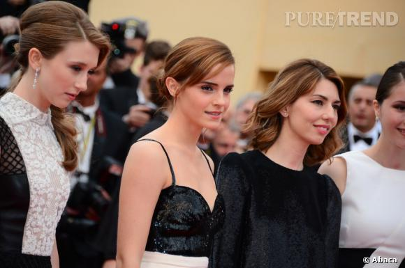 """Emma Watson lors de la première de """"The Bling Ring"""" de Sofia Coppola le 16 mai 2013."""