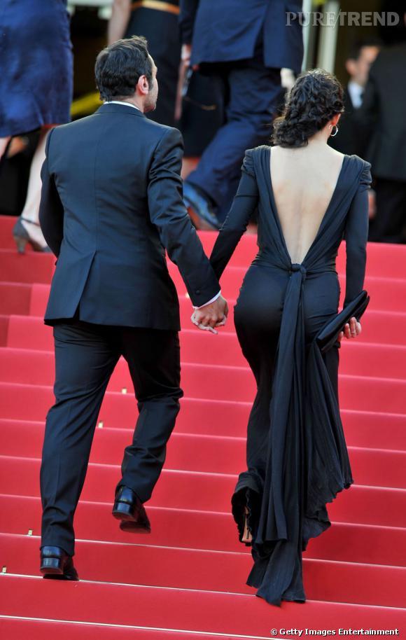 """Melanie Doutey à la première de """"The Artist"""" au Festival de Cannes 2011."""