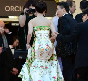 """Fan Bingbing à la projection de """"Moonrise Kingdom"""" lors du Festival de Cannes 2012."""