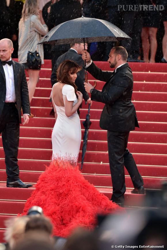 """Cheryl Cole lors de la projection du film """"Amour"""" au Festival de Cannes 2012."""