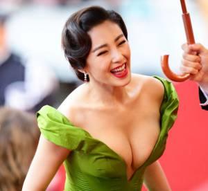 Cannes 2013 : l'angle de vue sexy de la montee des marches !