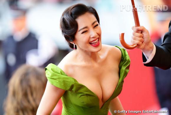Zang Yuqi lors de la cérémonie d'ouverture du Festival de Cannes 2013.