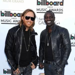 David Guetta et Akon toujours aussi inséparables.