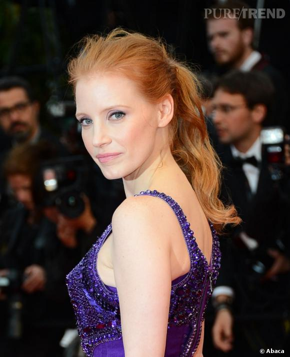 Le best-of beauté de Cannes, jour 8 Jessica Chastain et son teint parfait.