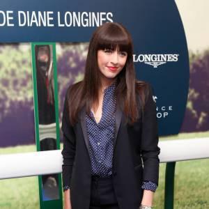 Nolwenn Leroy, jolie parisienne mode au prix de Diane.