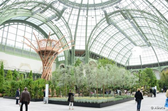 """Le Grand Palais transformé en serre géante pour """"L'Art du jardin"""" jusqu'au 3 juin prochain."""