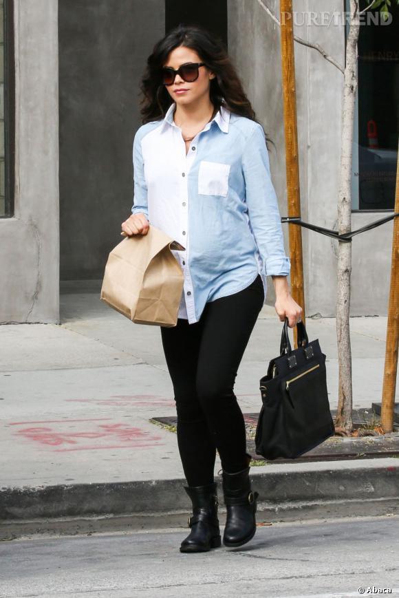 """Jenna Dewan-Tatum habite depuis 7 mois à Londres, où son mari tournait le film """"White House Down""""."""