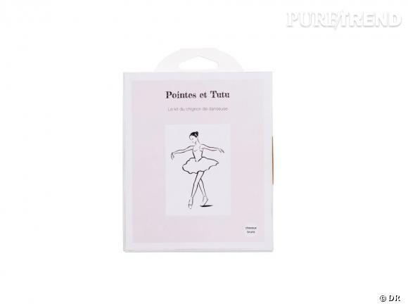 Un joli chignon de danseuse avec le kit Pointes et Tutu.