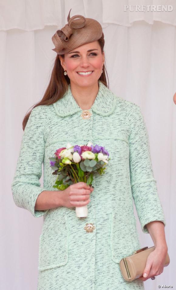 Kate Middleton, élue icône beauté du Royaume-Uni.