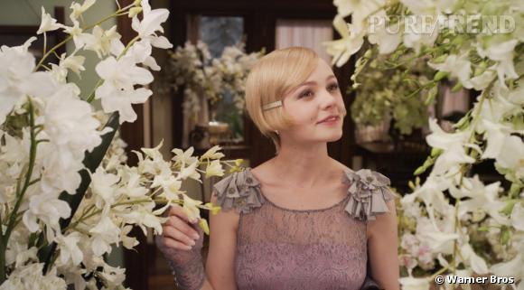 """Carey Mulligan version Daisy dans """"Gatsby le Magnifique"""" film d'ouverture du 66ème Festival de Cannes."""