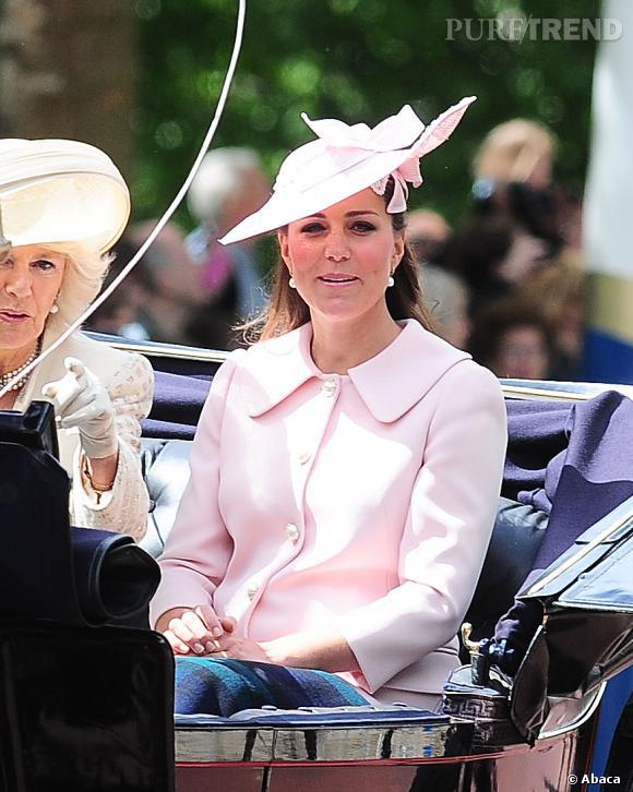 Kate Middleton, dernière apparition officielle lors de la parade Trooping the Colour.
