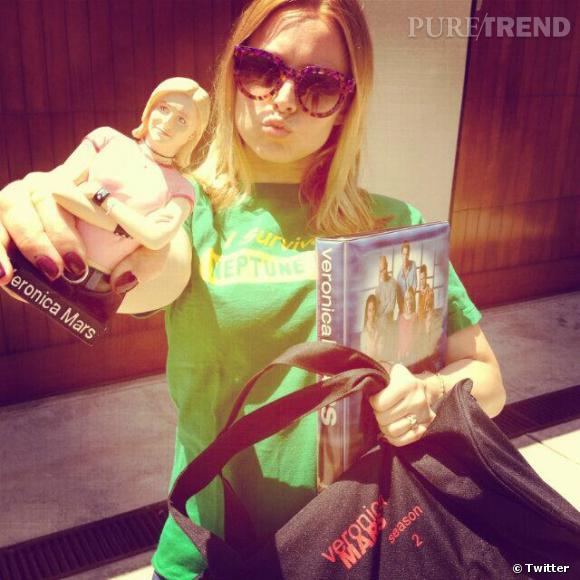 """Kristen Bell annonce son retour au travail, sur le tournage du film """"Veronica Mars"""" !"""