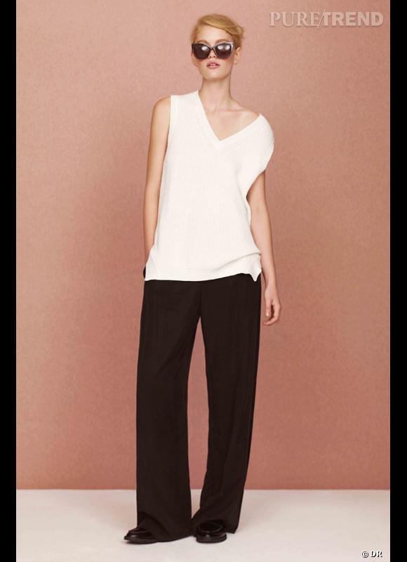 Comment porter les lunettes de soleil ce Printemps-Eté 2013 ? Comme chez Asos en optant pour un modèle noir oversize pour une allure glamour et sensuelle. Lookbook SS2013