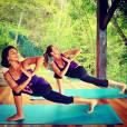 Pour Gisèle, le yoga c'est sacré ! Elle ne rate pas une séance, chez elle ou en voyage.