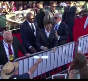 Johnny Depp rajeunit pour Lone Ranger : l'avant-premiere en video