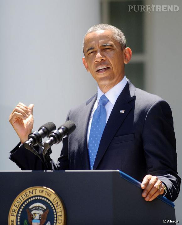 Barack Obama charismatique et drôle en plus cela.