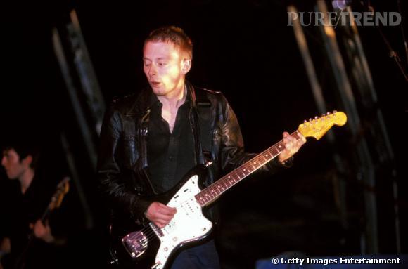 Tom Yorke de Radiohead en 1997.