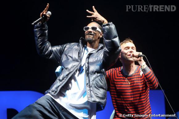 Rencontre étrange entre Snoop Lion et Damon Albarn de Gorillaz et Blur en 2010.