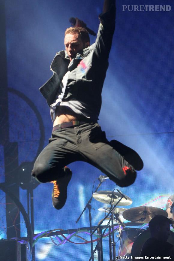 Pour le show de Coldplay en 2005, 153 000 festivaliers ont fait le déplacement.
