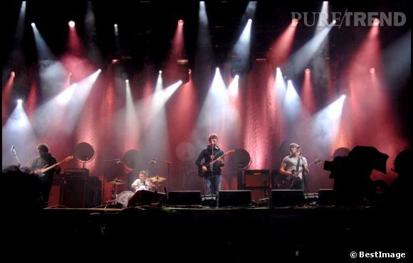 Alex Turner et les Arctic Monkeys en 2007.