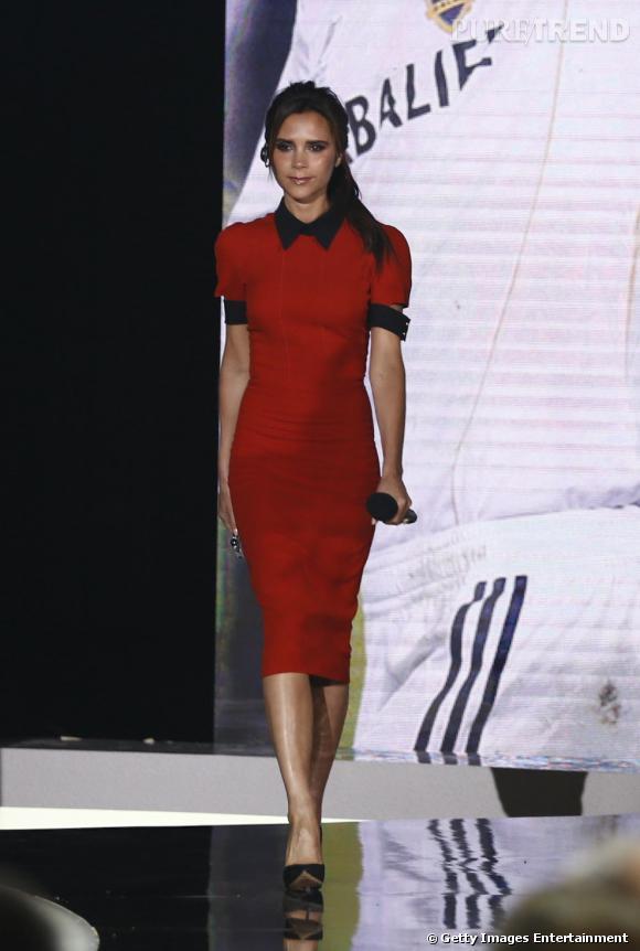 Victoria Beckham porte sa propre marque en Chine.