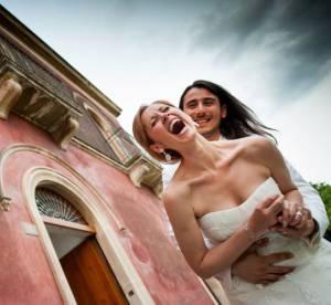 Lara Fabian, vive la jeune mariee !