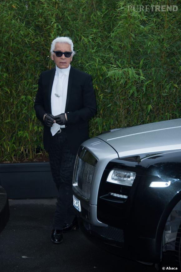 """Karl Lagerfeld, auteur des photos de cette exposition, n'aurait pas manqué l'inauguration de """"The Glory of Water""""."""